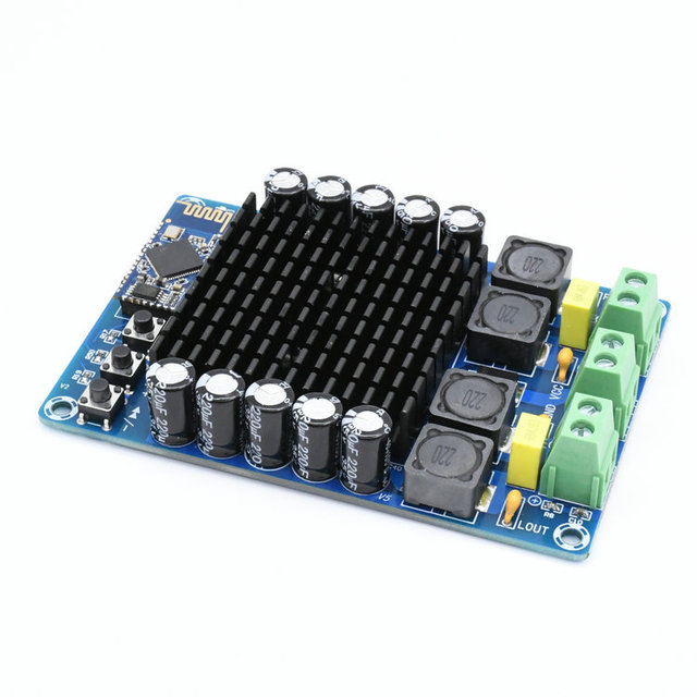 TDA7498 Bluetooth אודיו דיגיטלי מגבר כוח לוח 100W + 100W CSR8635 4.1 גבוהה כוח סטריאו מגבר