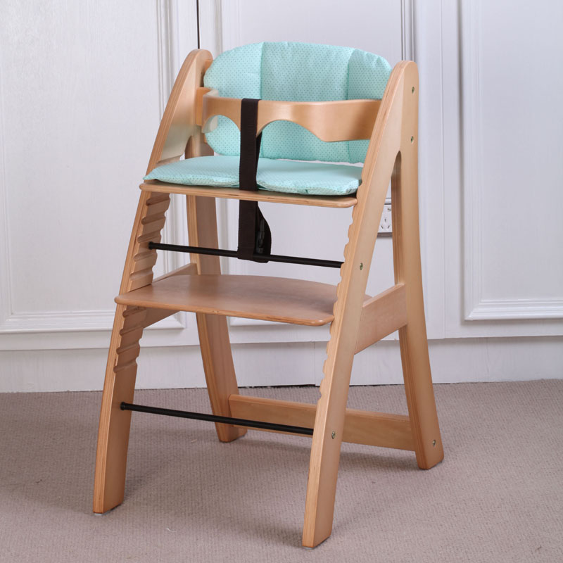 Bess Kell Infant Baby Eating Chair Wooden And Height Adjustable Lifetime