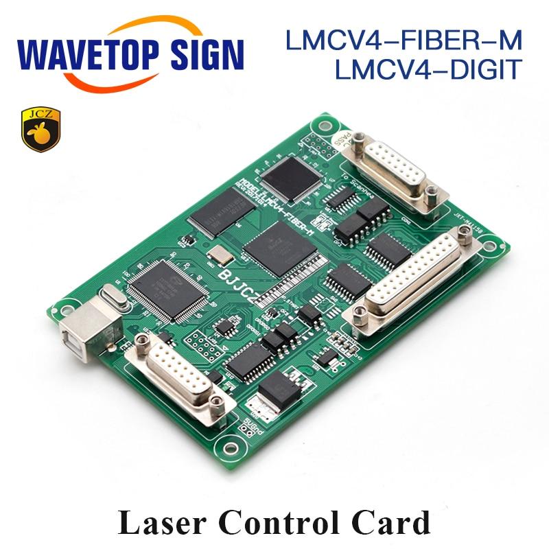 JCZ Laser Marking Machine Controller Card LMCV4 Ezcard Power 5V 3A 32 64 System for 1064nm