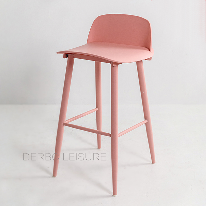 Astonishing Us 229 0 Modern Classic Design Solid Wooden Or Plastic And Metal Bar Stool Fashion Loft Counter Stool Nice Colorful Wood Bar Chair 1Pc In Bar Unemploymentrelief Wooden Chair Designs For Living Room Unemploymentrelieforg