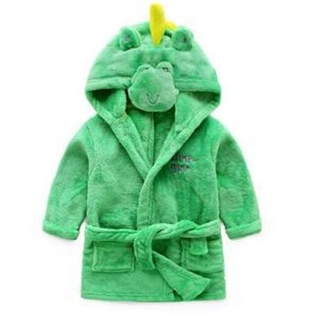 Berymond новый детский халат с рисунком животного форма Для мальчиков и девочек халат пижамы для детей Домашняя одежда