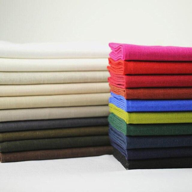 1 Metro de Espessura Viscose Linho Costura DIY Feltro Tecido Cortina de  Tecido de Linho d2829e6025c