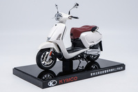 1:10 Diecast Model for KYMCO Any Like 150 White Motorbike Rare Alloy Toy Collection Mini Motorcycle