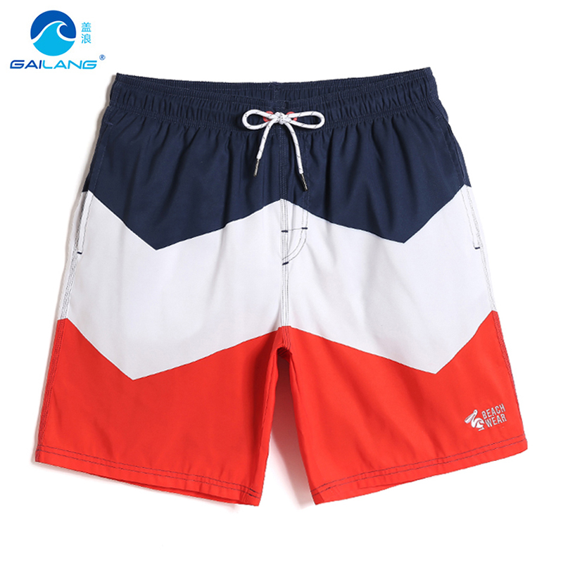 Summer Swimming trunks Men's bathing suit swimsuit joggers quick dry surfing swimwear liner sexy board shorts printed briefs