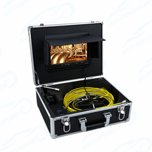 WP90B-20m sewer line video pipe inspection cost sewer scope drain inspection cleaning plumber storm drain inspection camera