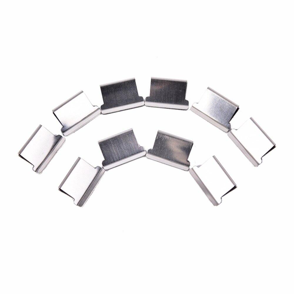 Школьные офисные аксессуары 50 шт./упак. мини металлическая для бумаги клипер канцелярские товары оптом низкая цена