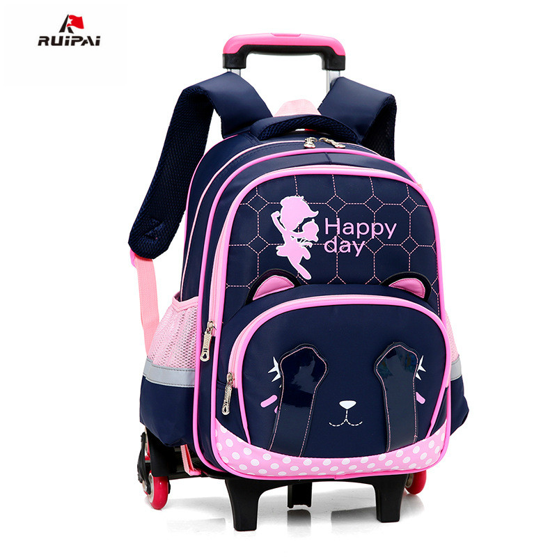 Children School Bags Grils Trolley school Backpack kids Wheel Bag Detachable Rolling Backpacks Trolley schoolbags travel Mochila children trolley backpack school bags boys grils wheeled bag student detachable kids school rolling backpacks travel bag mochila