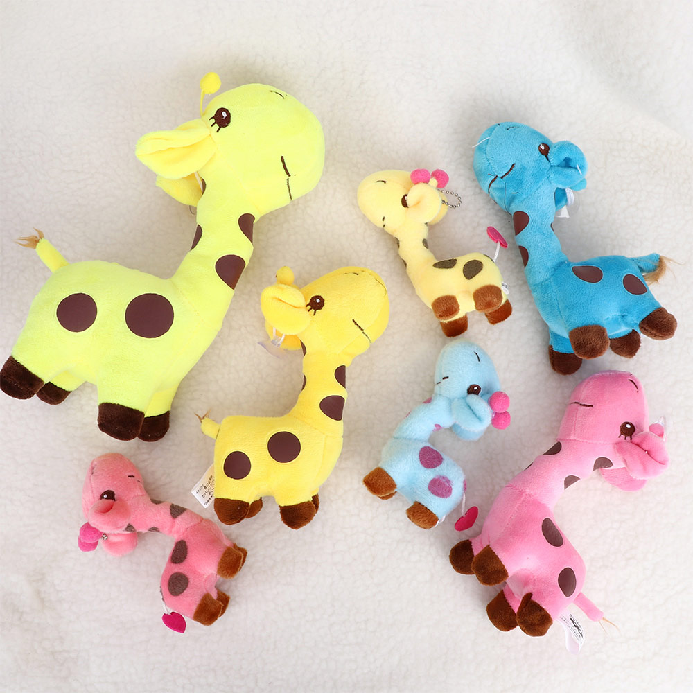 Birthday Gift Soft Stuffed Animal Dolls Cute Baby Kids Toy Plush Giraffe Doll