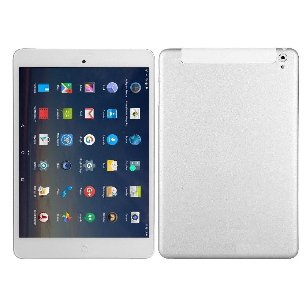 10.1 pouces tablette PC Android 8.0 3G appel téléphonique Quad-Core 3GB Ram 32GB Rom intégré 3G Bluetooth Wi-Fi GPS tablette 10