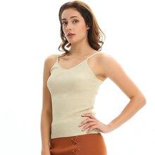 Crop Tops Women 2018 Sexy Knitted Tank Tops Gold Thread Top Vest Summer Camisole Women White Tank Top Fitness Femme T shirt