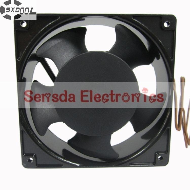 SXDOOL 4C-230HB 120 *120*38MM 230VAC 12cm 120mm case cooling fan blower sunon free shipping new original taiwan blower fan dp200a p n2123hsl 1238 12cm 12038 120 120 38mm 220v wire type