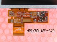 original with touch screen 5.0 Inch LCD Panel HSD050IDW1 A20 LCD display with TP for GPS LCD Display for GPS MP5 MID