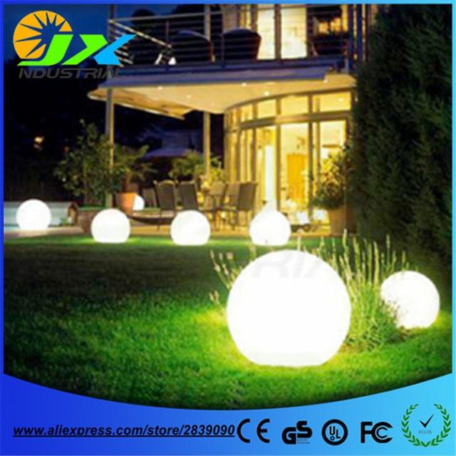 Led Rechargeable Rgbw Ball Garden Floor Lamp Outdoor Hallway