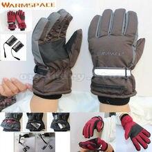 Перезаряжаемые Батарея Электрическим Подогревом Зимой руки перчатки ветрозащитный Прихватки для мангала для наружных работ лыжный Велоспорт мотоциклетные Велосипедный Спорт теплые