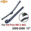 Qeepei lâmina traseira e braço para vw polo mk 4 9N3 2005-2009 13 ''3/5 portas Hatchback Iso9000 Alta Qualidade de Borracha Natural