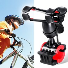 Universal Smartphone Bike Mount Holder with 360 Degree Rotate for iPhone 6S/6/5S/5 Samsung Galaxy S6 Google Nexus LG HTC and GPS