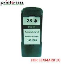 1pcs For Lexmark 28 Black Ink Cartridge X5070 X5075 X5320 X5340 X5410 X5495 Printer
