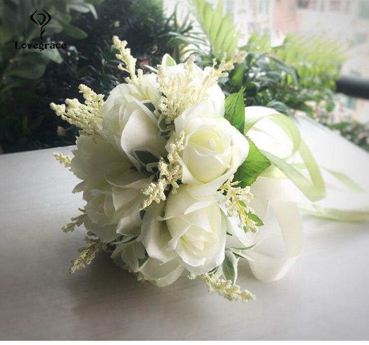 wedding bouquet for bridal bridesmaid flowers (5)