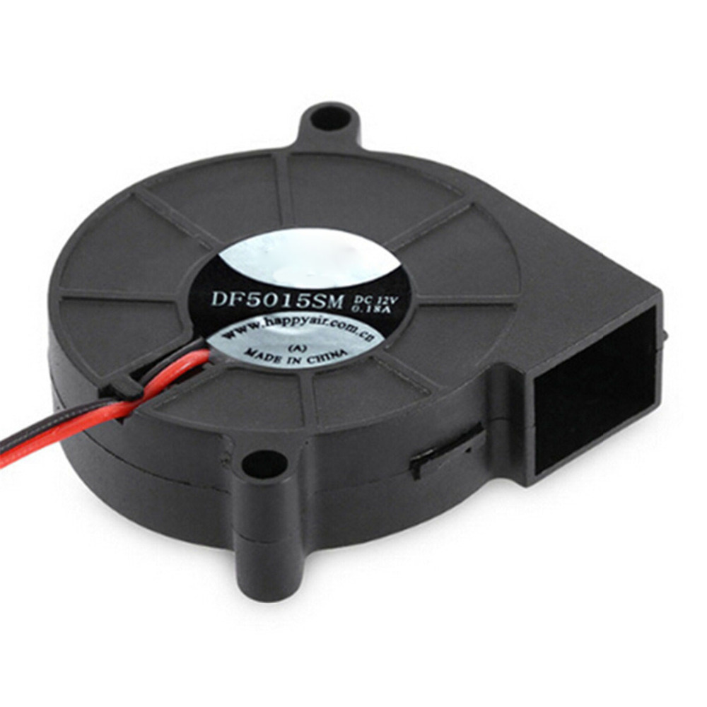 Blower computer mainframe cooler <font><b>50</b></font> x <font><b>50</b></font> x <font><b>15mm</b></font> 12V 2-pin hydraulic bearing cooling <font><b>fan</b></font> for computer case 0.9W image