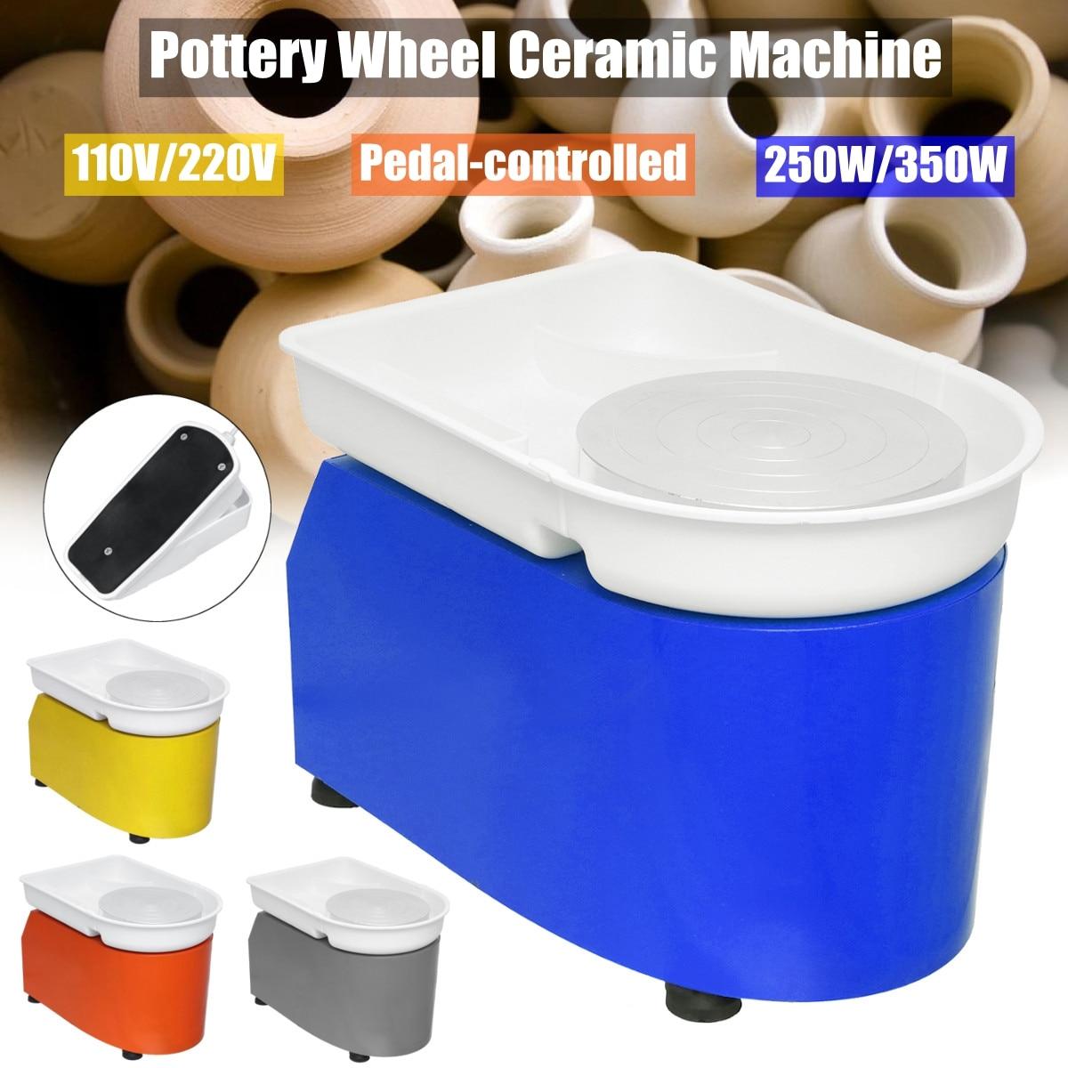220 В/350 Вт Электрический туры колеса керамика машина Керамика глины Поттер Книги по искусству для Керамика работы Керамика s 110 в/220 В