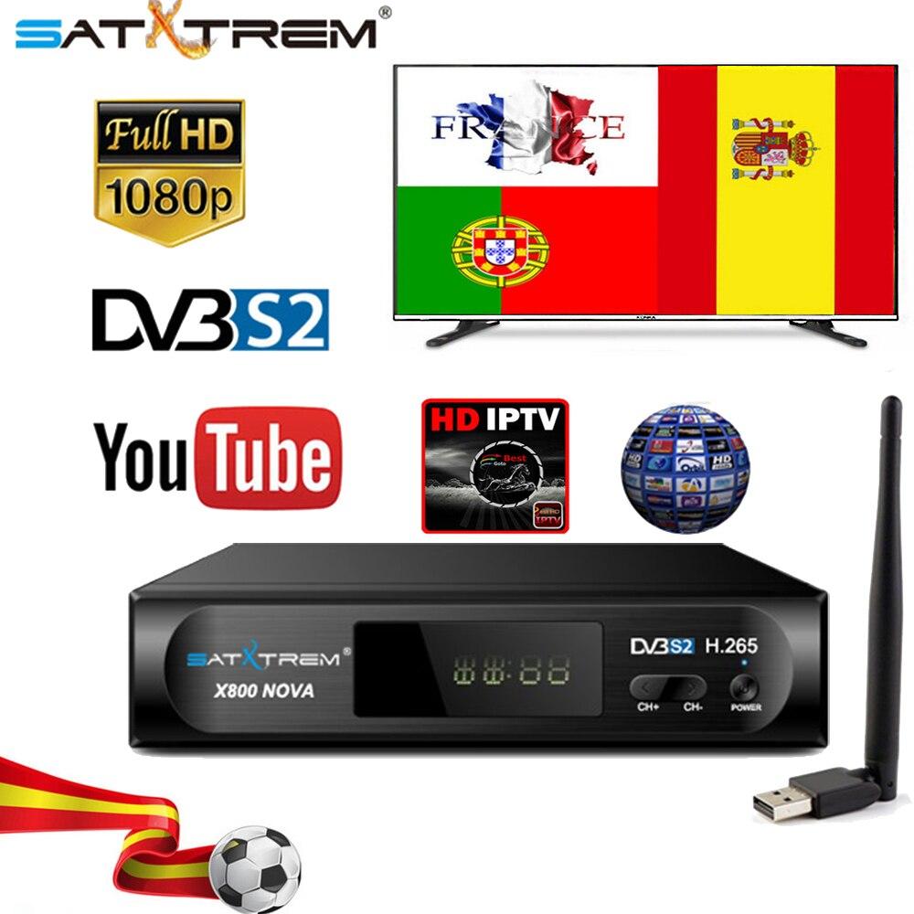 US $43 99 30% OFF|Aliexpress com : Buy X800 Nova DVB S2 Digital Satellite  TV Receiver Full 1080P H 265 TV Decoder Box support IPTV top Box from