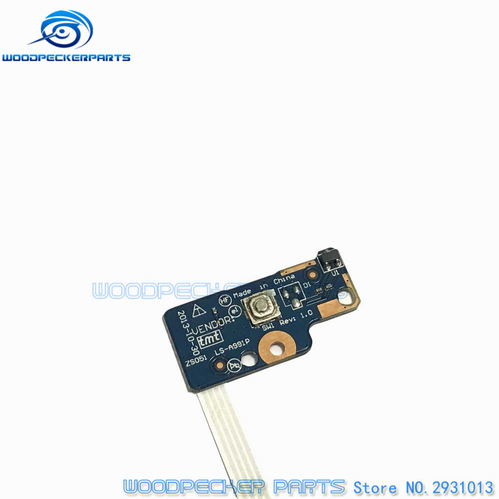 Cheap Sale Free Shipping Origina For Hp 15-g Button Series Power Switch Board On/off 749650-001 Ls-991p Computer & Office