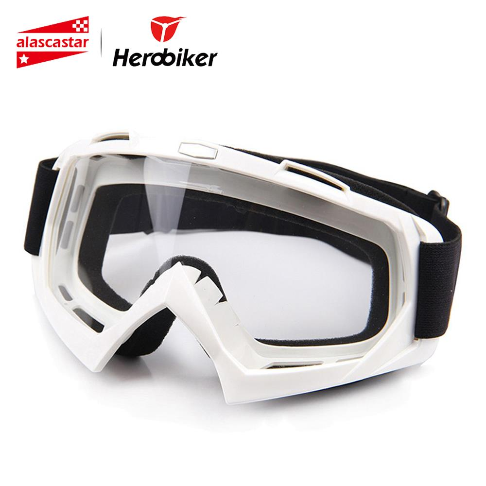 HEROBIKER Մոտոցիկլ հեծանվավազք Ski Snowboard Skate Glasses Motocross Off-Road Dirt Bike Downhill Enduro Անջրանցիկ Ակնոցներ