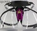 Фиолетовый пластиковые CB6000S небольшой петух клетка ремень мужчин носить ремень на пенис замок целомудрия устройства страпон взрослых мужчин секс продукта