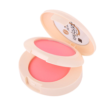 2 Color Double Naked Blush Palette Soymilk Material Face Benifit Makeup Beauty Blusher Powder Cosmetics LDEAL Brand