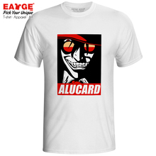 I Am The Bloody Alucard T Shirt Hellsing Anime Manga Active Design T-shirt Punk Print Casual Unisex Men Women Top Tee hellsing alucard cosplay red mens hellsing cosplay costume