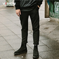 VIISHOW Brand men pants casual mens business trousers hombre Slip patchwork Casual men pants Drawstring waist mens sweat pants
