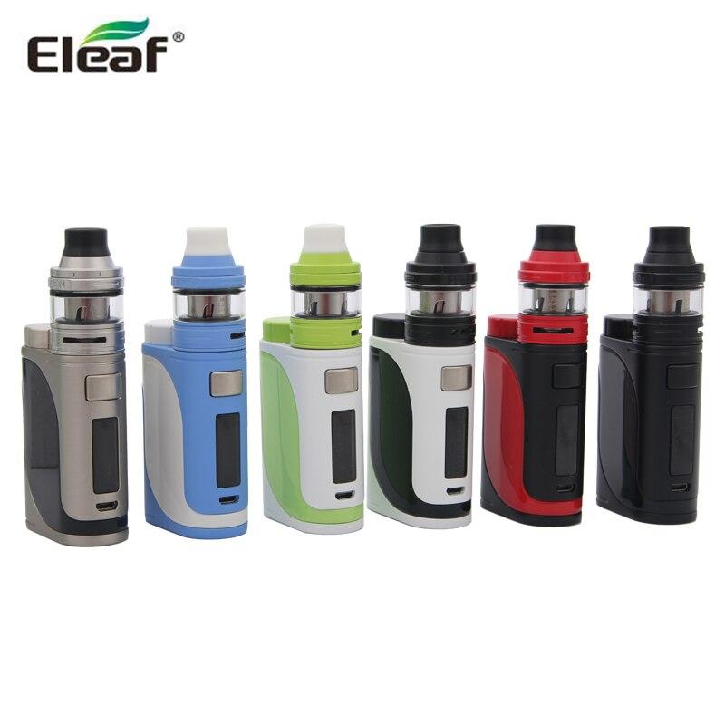Originale Eleaf iStick Pico 25 Kit 85 W iStick Pico 25 Vape Smok Bod Box ELLO MOD con 2 ml Atomizzatore con HW Bobine E Sigaretta