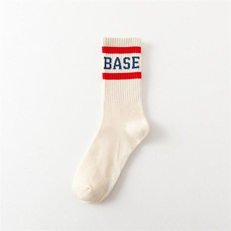 Popular Brand Fashion Men Socks Harajuku Hip Hop Street Skateboard Socks For Male Long Happy Socks Meias Casual Cotton Crew Socks Calcetines Men's Socks