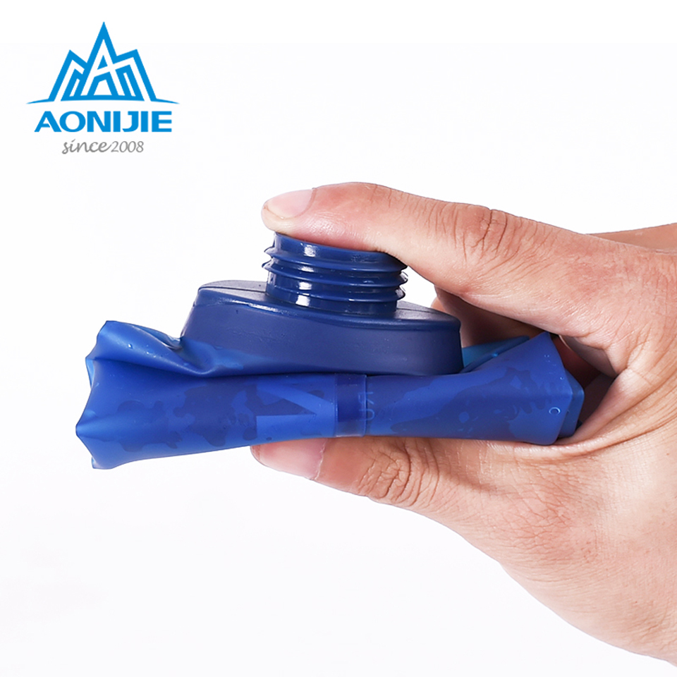 AONIJIE Outdoor Folding Soft Long Straw Outdoor Drinking Bottle Travel Sport Camping Hiking Water Bag 170ML 250ML 500ml Islamabad