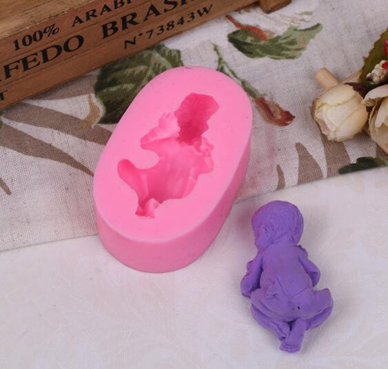 Yonghao 3D Baby Cake Mold Silicone Baking Cake Mould ...