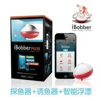 Американский Ibobber Мобильный телефон детектор рыбы импульсная версия рыбы Ловушка Беспроводная Sonar китайская рыболовная машина плот Рыболо