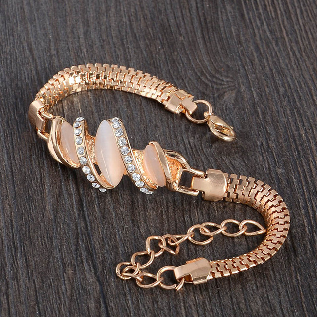 Gold Plated Unique Bracelet