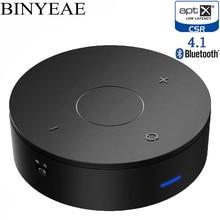 Binyeae Bluetooth Aptx baixa latência de 4.1 Divisor De Áudio Aux cabo de 3.5mm Adaptador de música estéreo do carro tv Receptor Transmissor Sem Fio em casa
