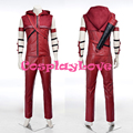 New Custom Made High Quality America Movie Arrow Roy Harpe Red Arrow Cosplay Costume For Halloween Christmas Carnival