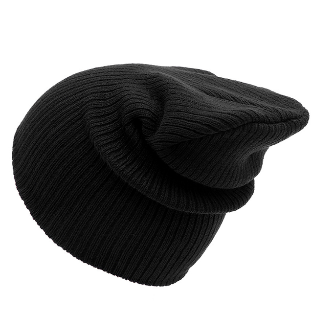 5b7dc58e4be New Winter Hats Woman 2018 Beanies Knitted Solid Cute Hat Girls Autumn  Female Beanie Caps Warmer Bonnet Ladies Casual Cap 7C0727