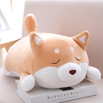 36/55 Cute Fat Shiba Inu Dog Plush Toy Stuffed Soft Kawaii Animal Cartoon Pillow Lovely Gift for Kids Baby Children Good Quality 2