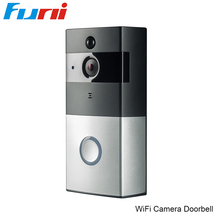 Best price Funi 720P Wifi Video Doorbell Outdoor IP Camera PIR Night Vision with 8G Card Waterproof Wireless Door Intercom Video Intercom