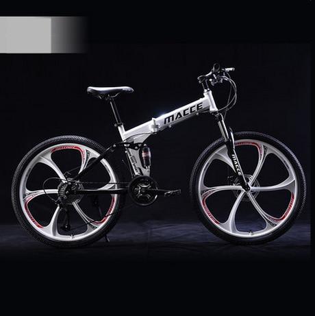 Markë e re 24/26 inç çeliku karboni rrota 21/24/27 biçikletë - Çiklizmit - Foto 5