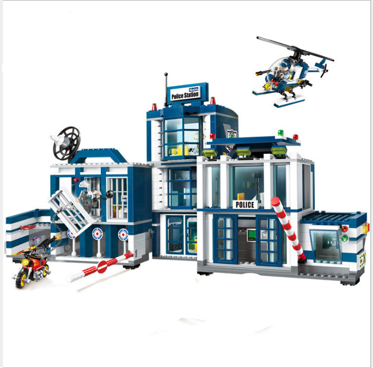 LEPIN Police Station 02020 City Series compatible legoing Police Station 60141 Set Children Educational Building Blocks Bricks 02020 lepin new city series the new police station set children educational model building blocks bricks diy toys kid gift 60141