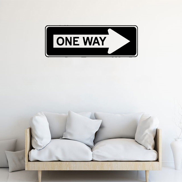 Stizzy Wall Decal Creative Symbol Design Quote One Way Vinyl Wall
