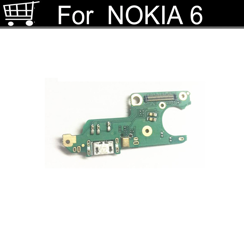 USB Charging Port Board For Nokia 6 Mobile Phone 4G Dual SIM Dock Charger Plug Connector Board Flex Cable For Nokia6