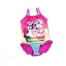 One-Piece Swimsuits Girls Cartoon Pony Swimming Suits Children Beach Wear Girls Lovely Swimwear Infantil H1-H023