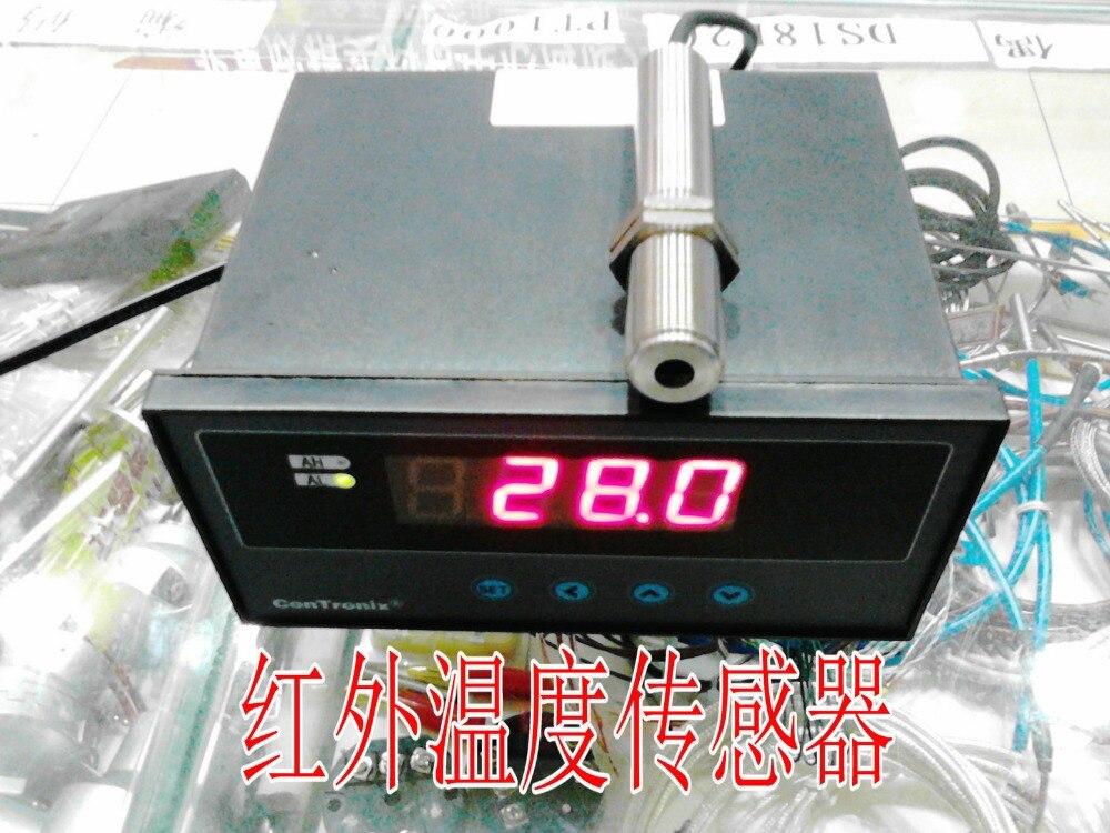 Инфракрасный датчик температуры, измерьте температура пламени 0 500 градусов, выход 4 20mA