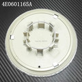 4 unids/lote plástico plateado CASQUILLOS del CENTRO de RUEDA hub caps Para a udi 2004 A8 LLANTA TAPACUBOS 4E0601165A