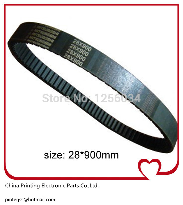 1 piece Heidelberg GTO monochrome machine parts, Speed drive belt, Width 28MM length 900MM